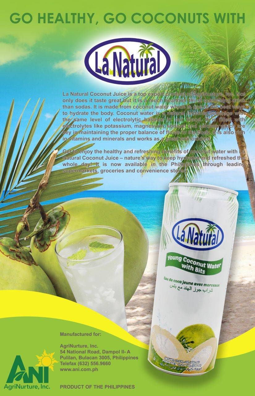 La Natural Coconut water