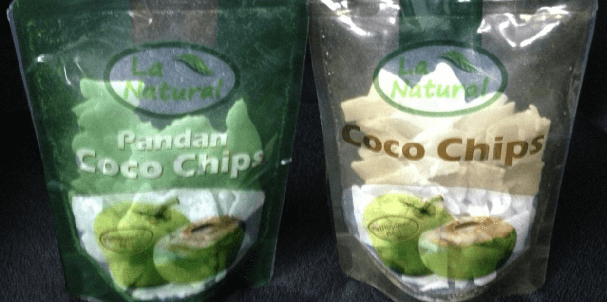 Coco Chips (Original And Pandan Flavor)